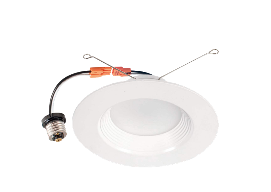 Recessed Mounted Down Light  With E26 Base 5/6 inch