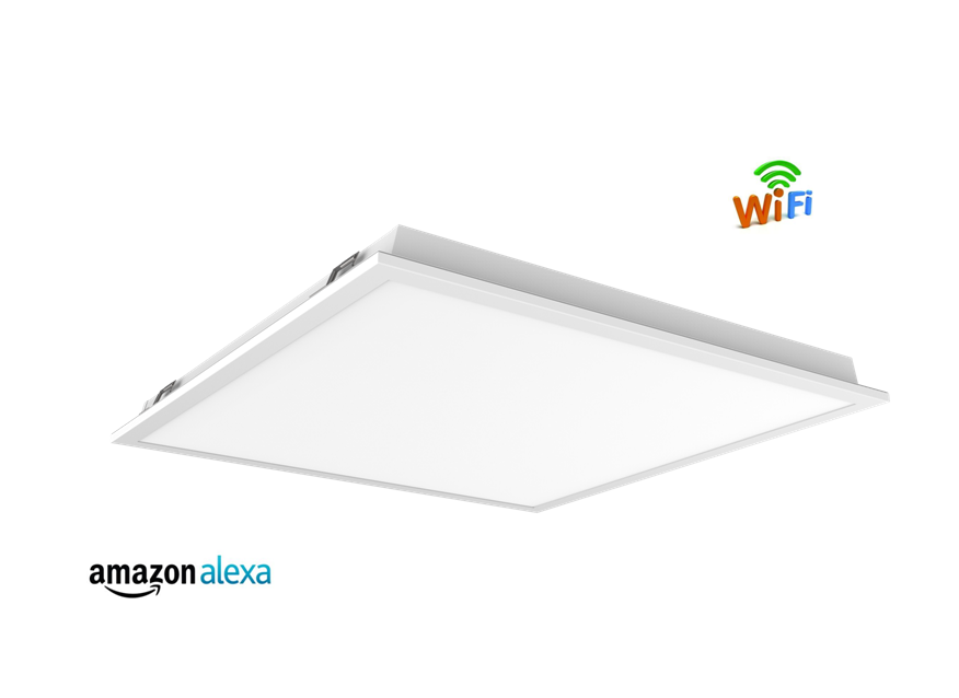 Recessed Mounted Back-lit Panel Smart  Light With WiFi